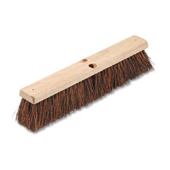 "Floor Brush Head, 3 1/4"" Natural Palmyra Fiber, 18"" -"
