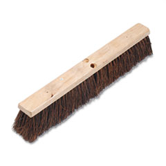 "Floor Brush Head, 3 1/4"" Natural Palmyra Fiber, 24"" -"