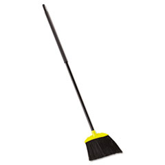 Jumbo Smooth Sweep Angled Broom, 46-in Handle,
